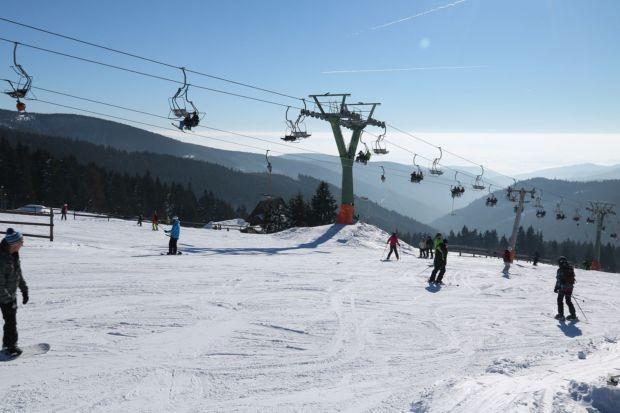 Skiareál Boží Dar