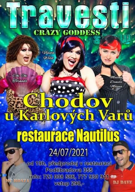 Travesti Show Goddess opět v Nautilu