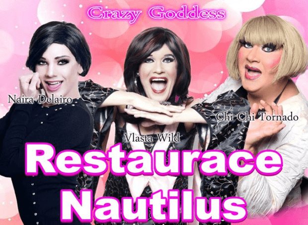 Travesti Show v Hotelu Nautilus