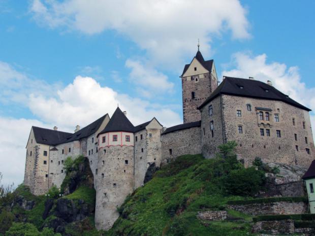 Amfiteátr a hrad Loket