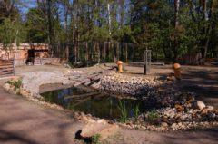 Zoopark v lesoparku Amerika