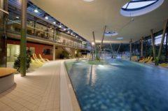 Ráj koupání a sauna v Aquadonu - Bad Brambach